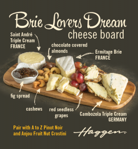 Brie Lovers Dream Cheese Board